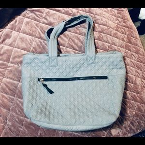 NWOT**Sondra Roberts Squared Quilted Nylon Tote